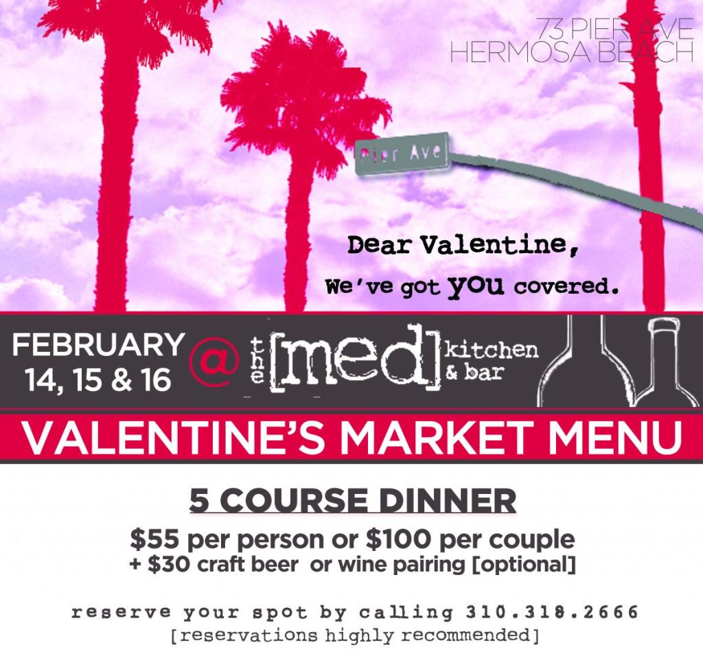 Valentine's Dinner Invitation – The Med