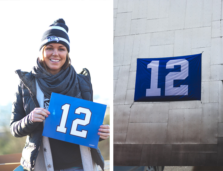 fans of seahawks, photos of seahawks fans, 12th man