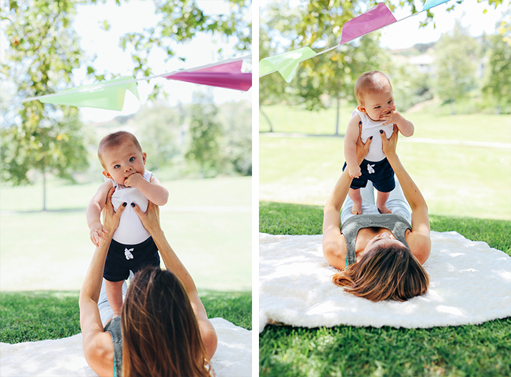 Baby photography, 6 month photos, mom and baby, cute ideas for month photos