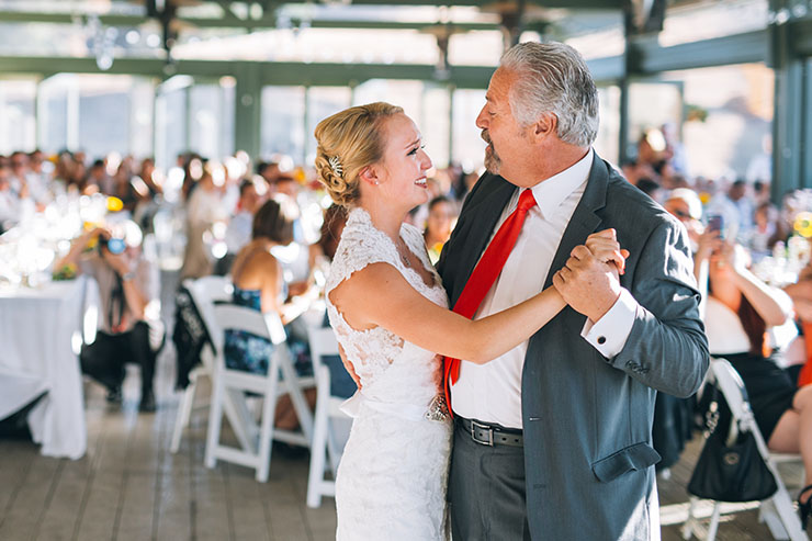 Ben & Danielle Wedding Pleasanton California, Father daughter first dance wedding