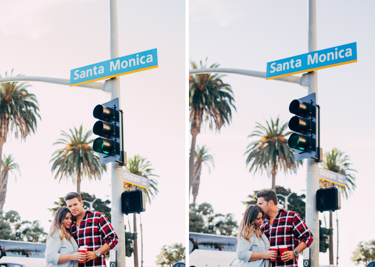 Santa Monica, Los Angeles Portrait Photography, Santa Monica Photography, Couples Portraits, Third Street Promenade, Santa Monica Pier