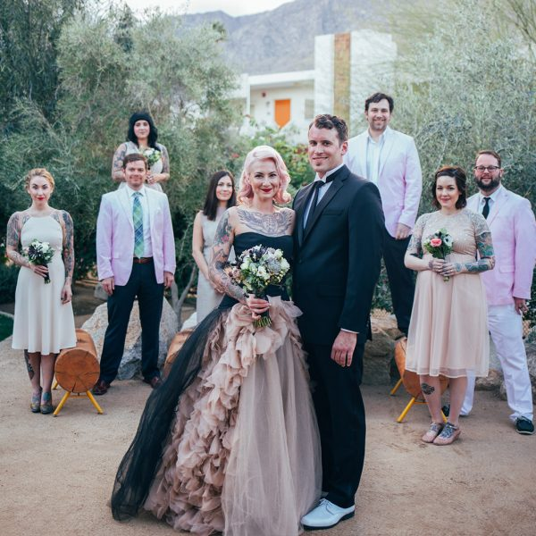 Jenna & Matt Married | Palm Springs, CA