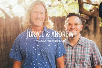 bryce and andrew engaged - hermosa beach, ca