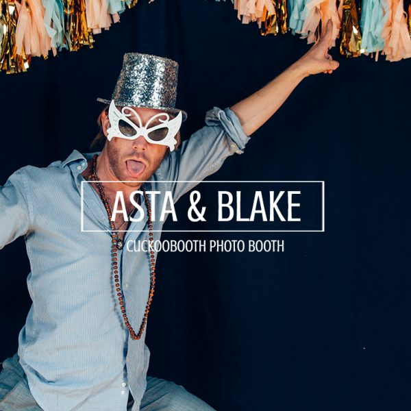 Asta and Blake Photo Booth Yosemite
