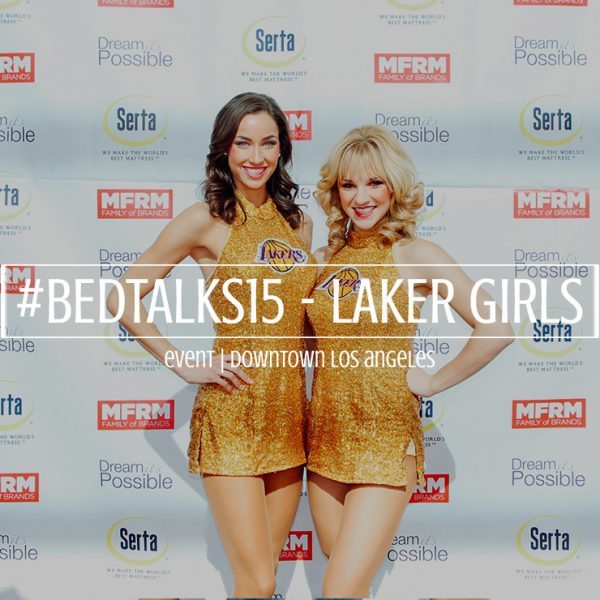 BEDTalks Laker Girls Photo Booth