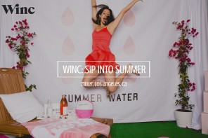 yes way rose, summer water wine, wine event ideas, photo booth inspiration, photo booth ideas