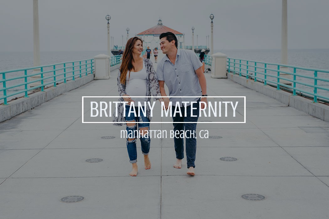 maternity photos manhattan beach