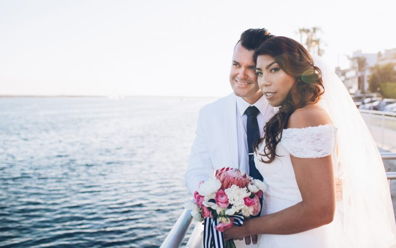 George & Marissa Married | Marina Del Rey, CA