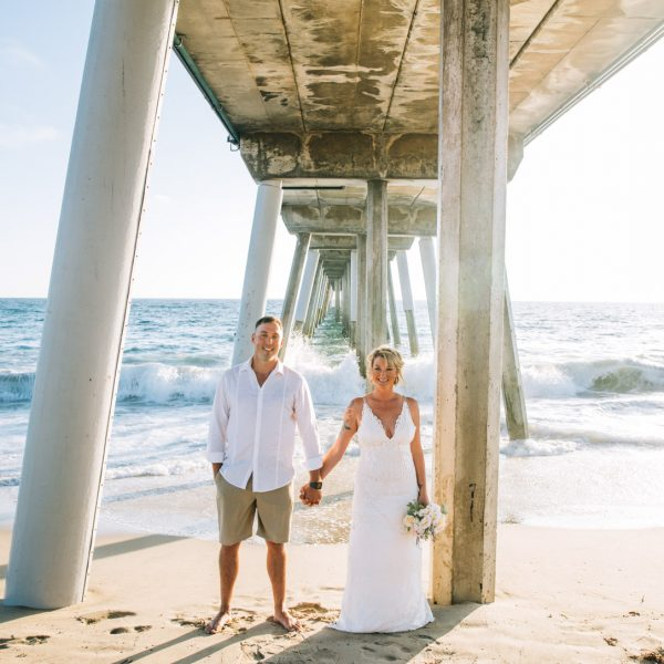 Drea & Jeremy Married | Hermosa Beach, CA