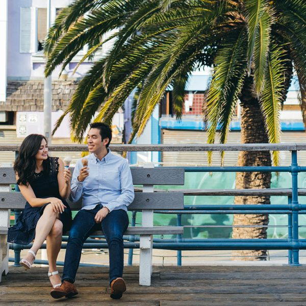 Sarah & Mason Engaged | Santa Monica, Ca
