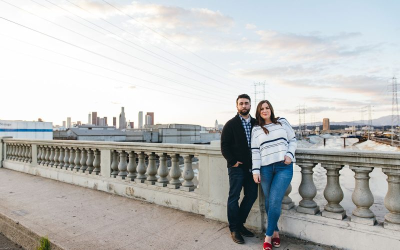Phil & Clare Engaged | Downtown Los Angeles
